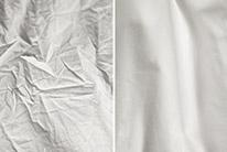 Omezí zmačkání o třetinu. Párou osvěžené oděvy