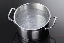 Varná zóna ohřívá pouze tehdy, když na ni umístíte nádobu